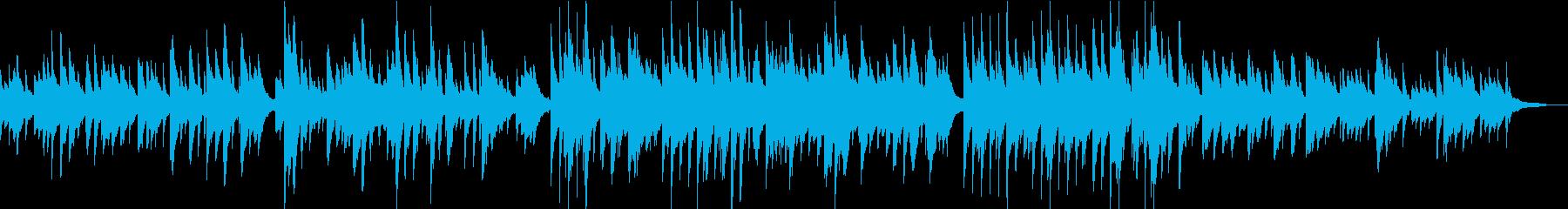モーニングルーティン 癒されるピアノソロの再生済みの波形