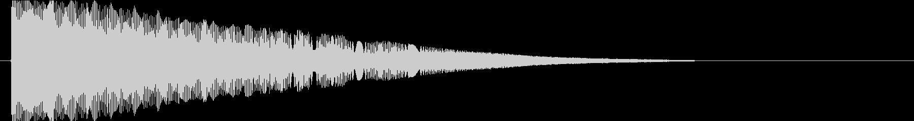 ギュピピピピピーンの未再生の波形