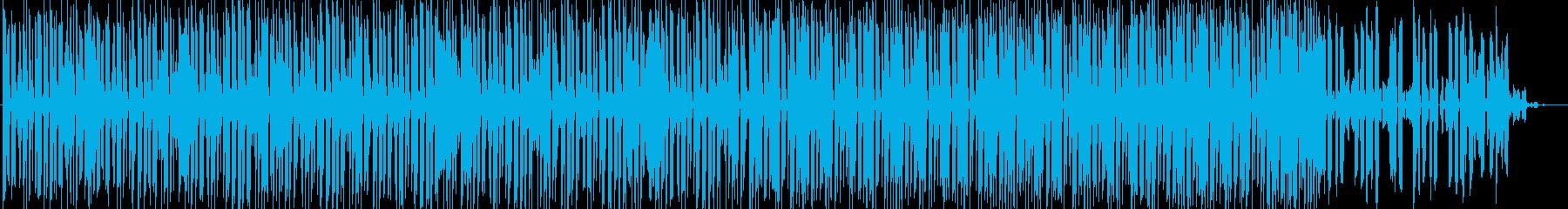 水をイメージしたミニマルテクノポップの再生済みの波形