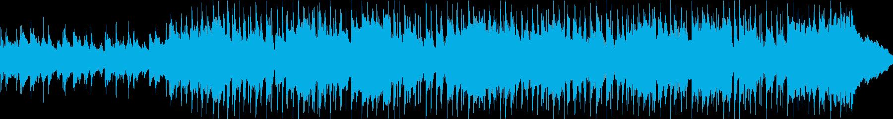 子供の好奇心をイメージしたポップな曲の再生済みの波形