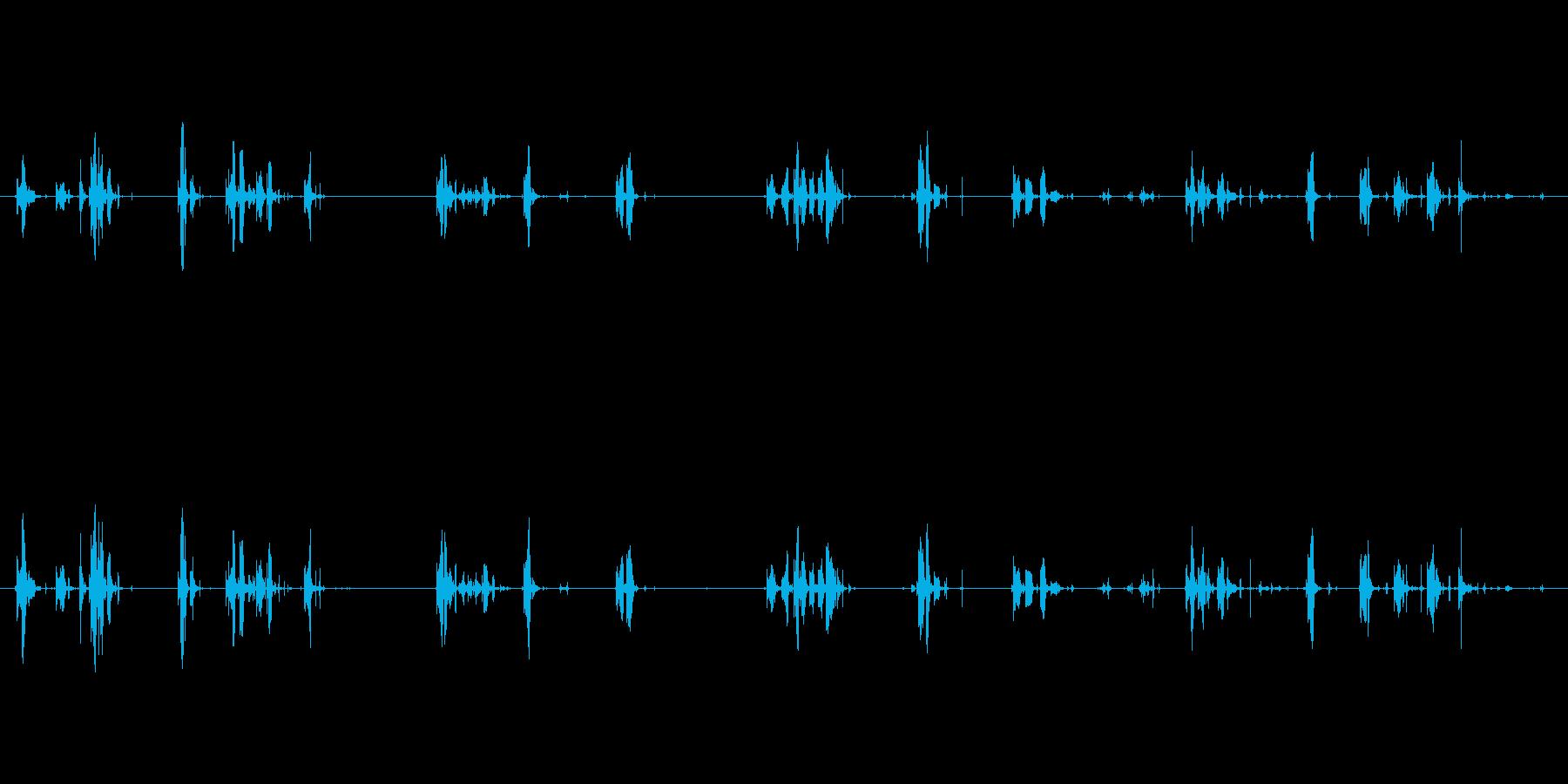 泡・気泡・水中(ぶくぶく)の再生済みの波形