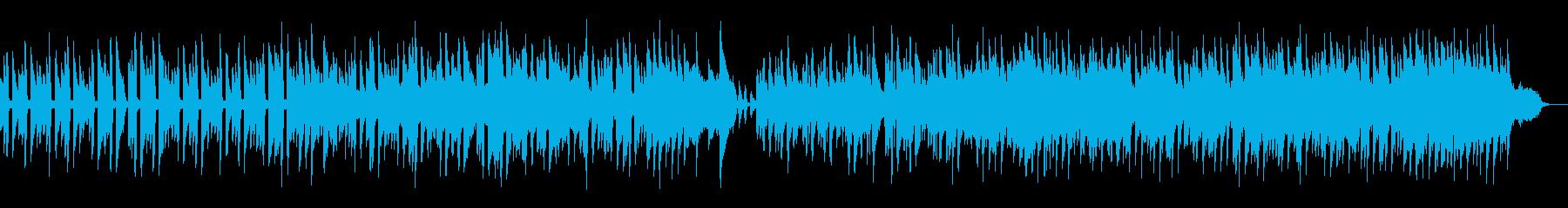 おしゃれで静かな秋冬用のBGMにの再生済みの波形