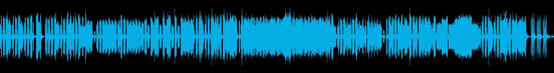おとぼけ・コミカル・ユーモラス レトロ風の再生済みの波形