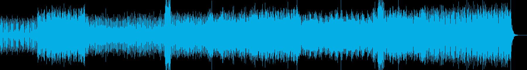 コンセプトムービー向けの幻想的なトランスの再生済みの波形