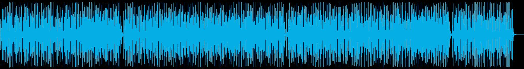 ノリがよくお洒落カワイイ曲の再生済みの波形