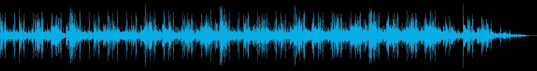 アコギテイストの王道R&Bトラックの再生済みの波形