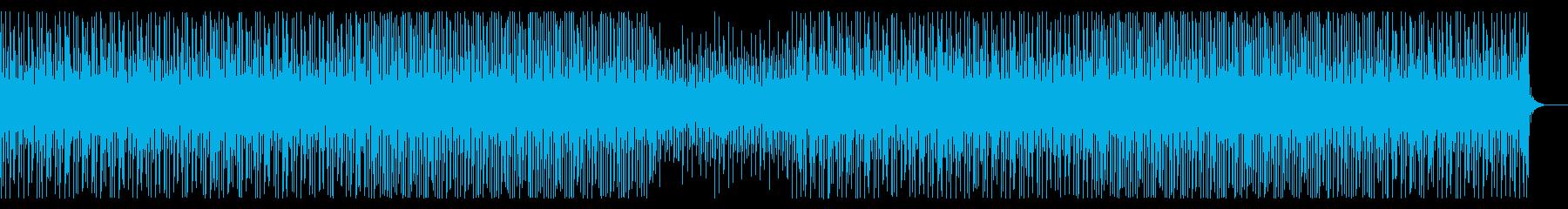 YouTube・トーク・可愛いEDM風!の再生済みの波形