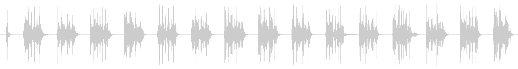 SCI FI マシンガン01の未再生の波形