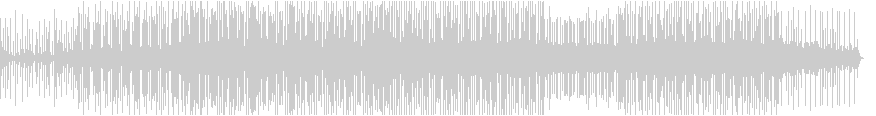 レトロフューチャー 80's洋楽ファンクの未再生の波形