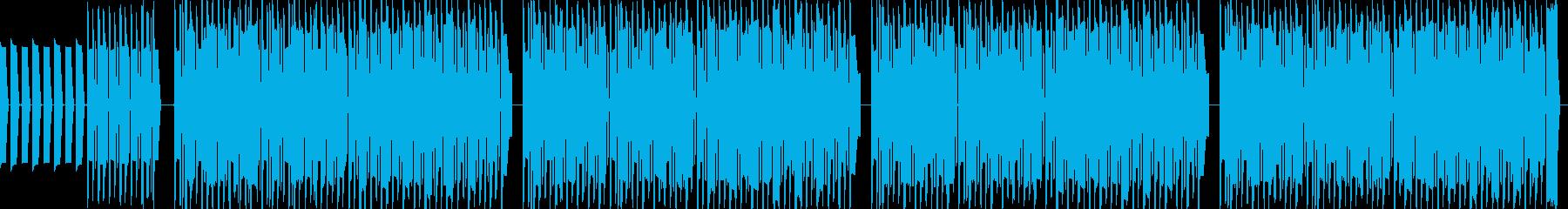 なんとなく流れてきそうなポップチューンの再生済みの波形