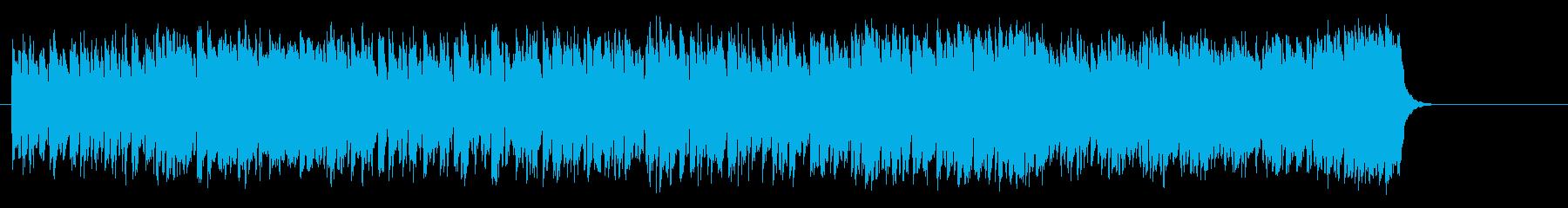 情報向けの軽快なポップス(イントロ~…)の再生済みの波形