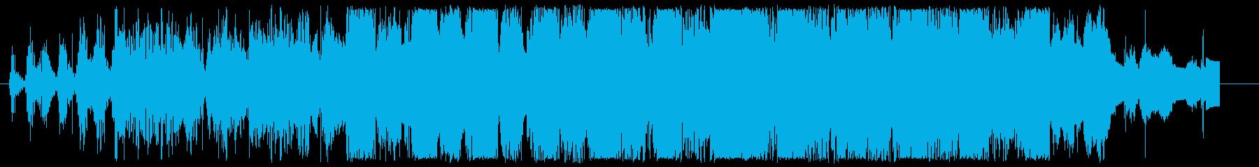 夢の中/ふわふわ/爽やか/エレクトロニカの再生済みの波形