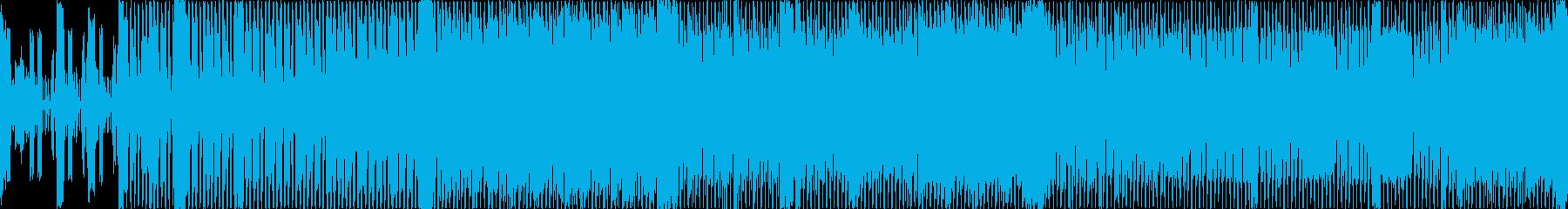 80音。ピアノのクレッシェンド。ピ...の再生済みの波形