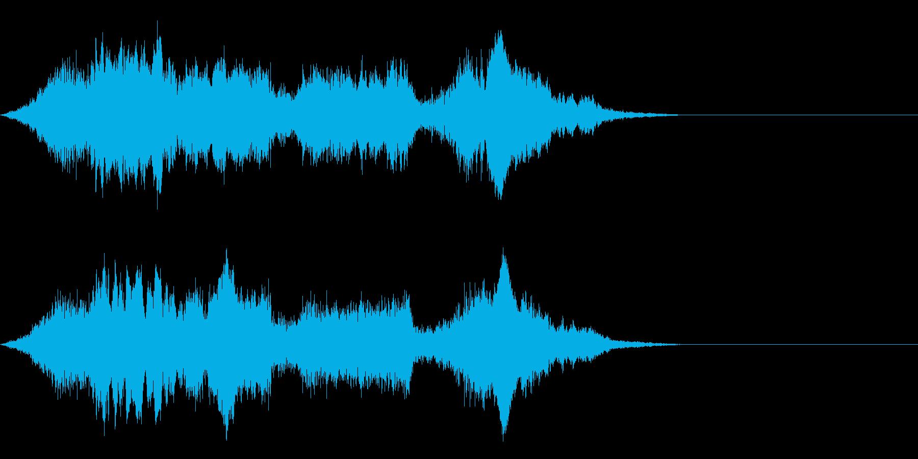 F1などのレース、エンジン音に最適!19の再生済みの波形