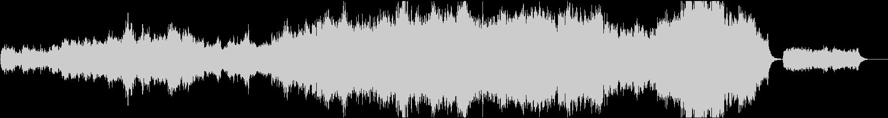 16bit,48kHzバージョンです。の未再生の波形