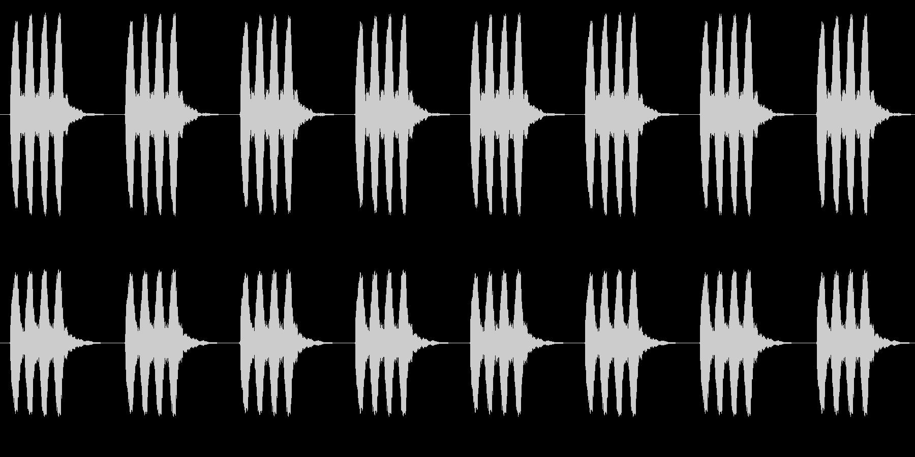 時計 アラーム02-2(遠い ループ)の未再生の波形