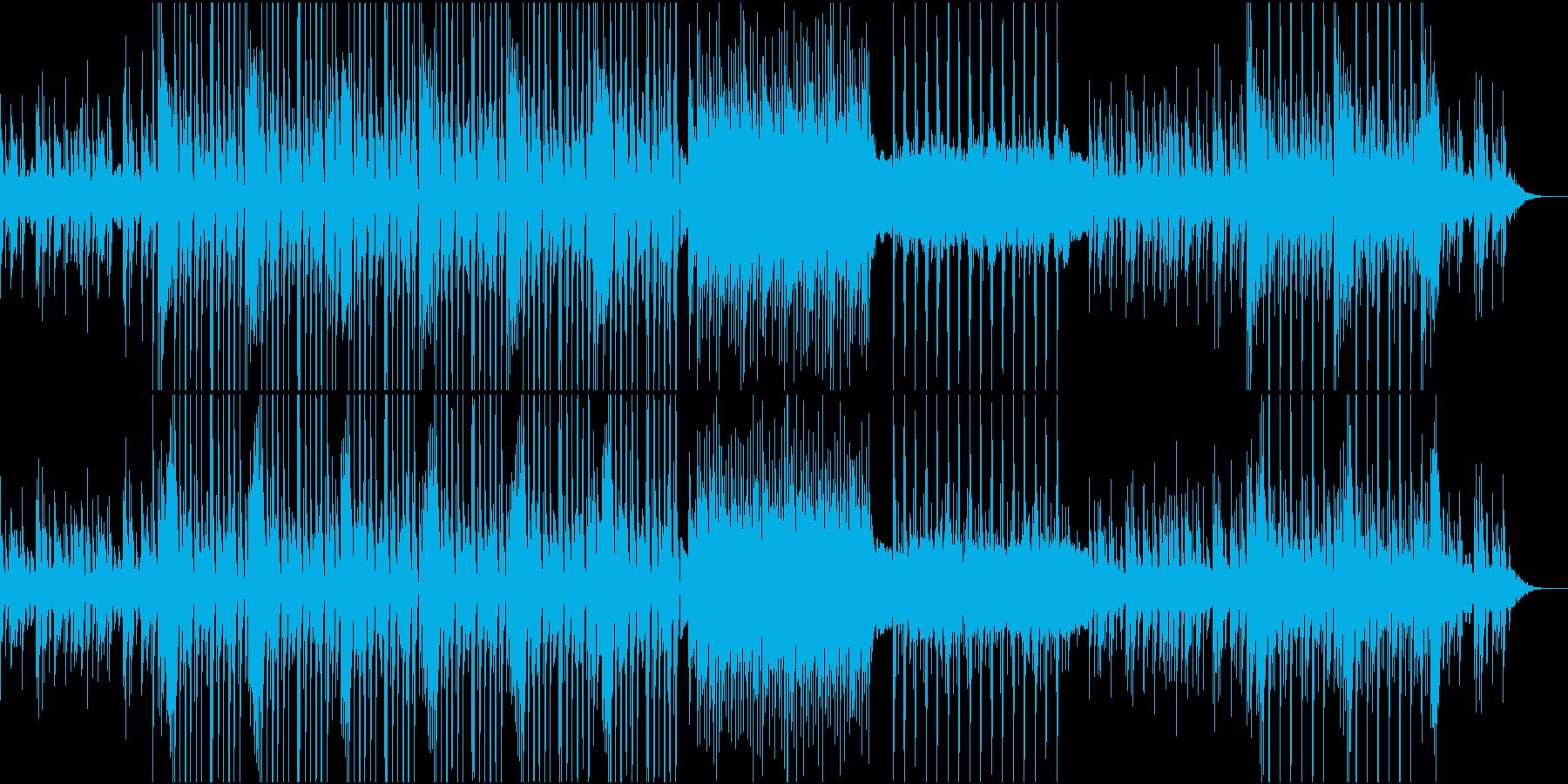 レトロポップなゲームミュージックの再生済みの波形