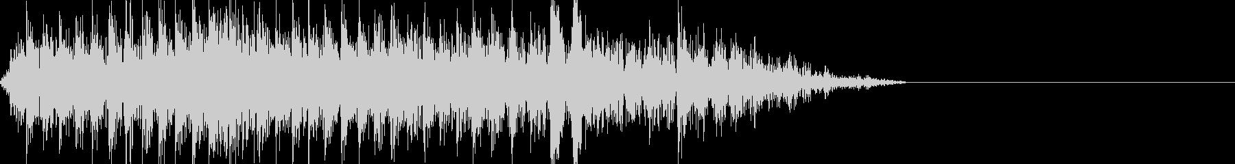工事現場の音 の未再生の波形