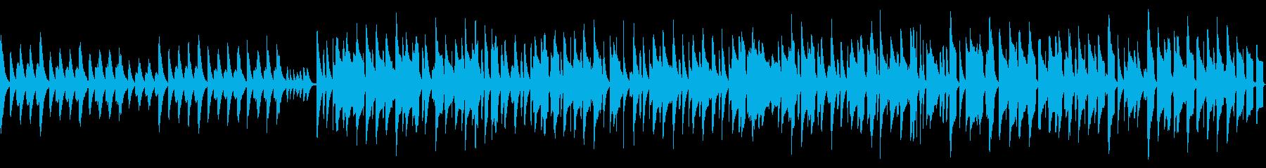 ピタゴラスイッチ風ほのぼのリコーダー曲の再生済みの波形