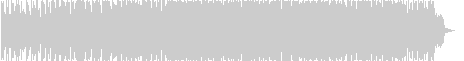 EDM that seems to suit sports and news's unreproduced waveform