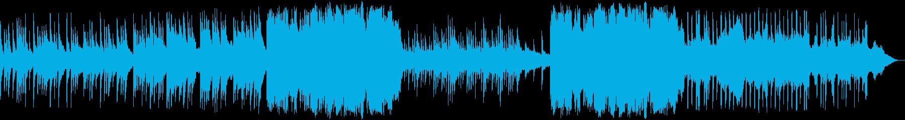 悲しい子守唄のような和のピアノ音楽の再生済みの波形