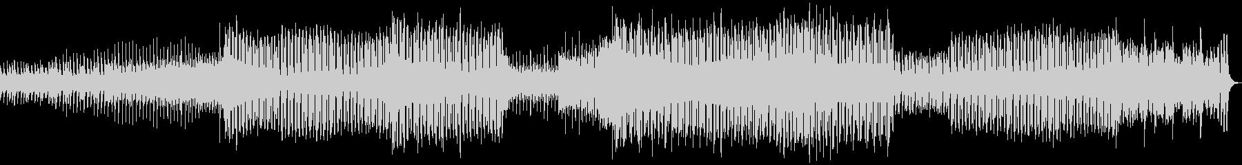 ノリのいいシンプルなEDMの未再生の波形