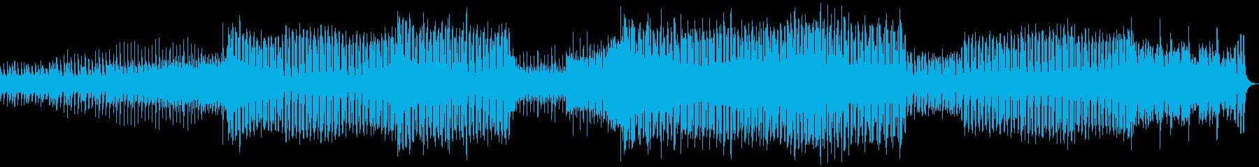 ノリのいいシンプルなEDMの再生済みの波形