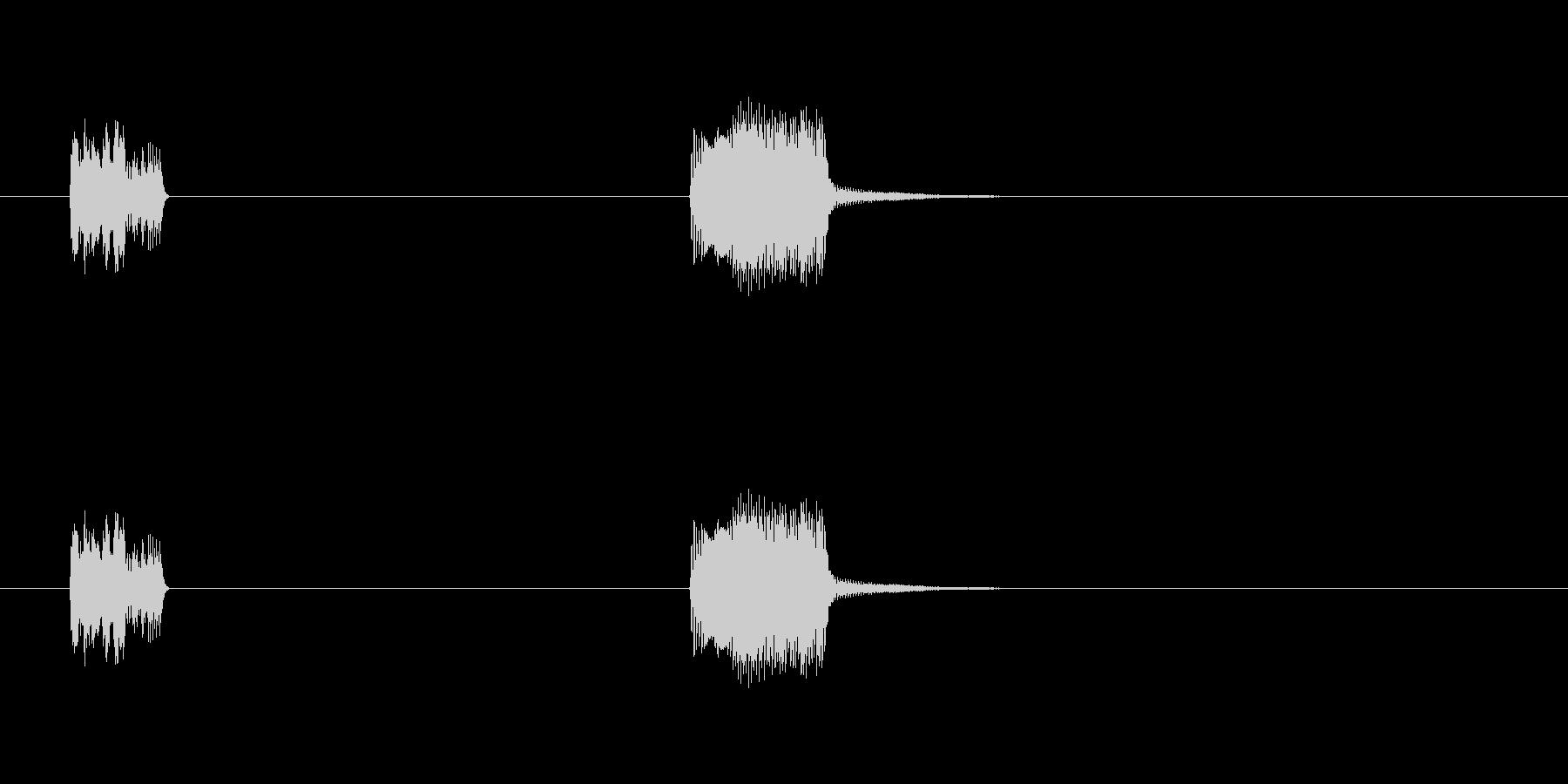 エネルギーバーストショートエネルギ...の未再生の波形