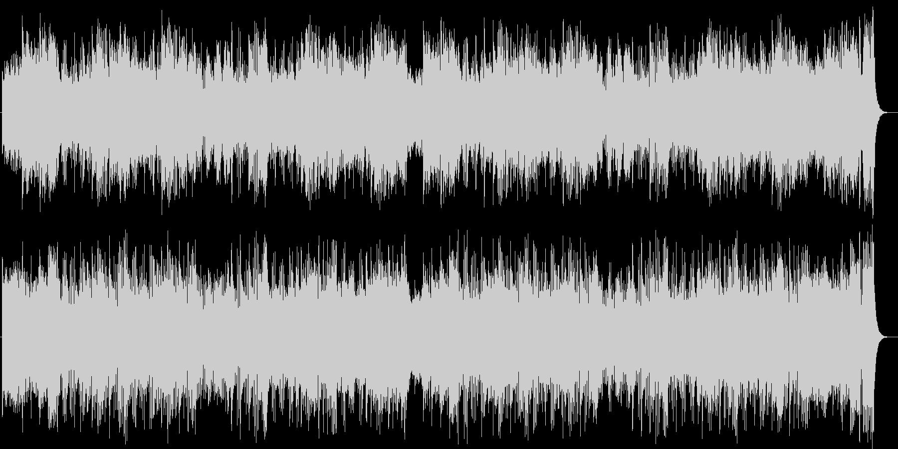 神秘的で壮大なオーケストラサウンドの未再生の波形