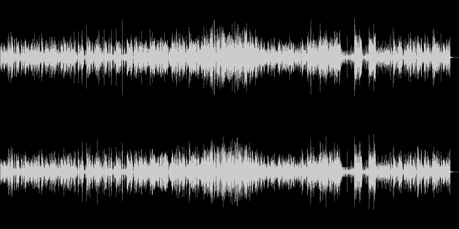 スタンダードジャズのピアノトリオの未再生の波形