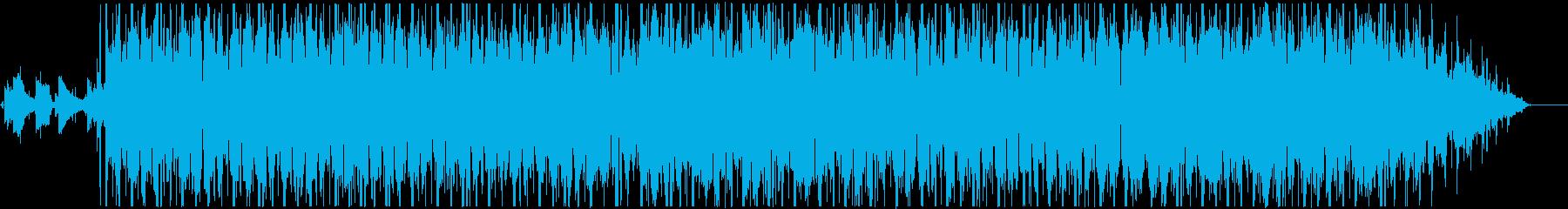 ヒップホップ系、チル、メロウ、Lo-Fiの再生済みの波形