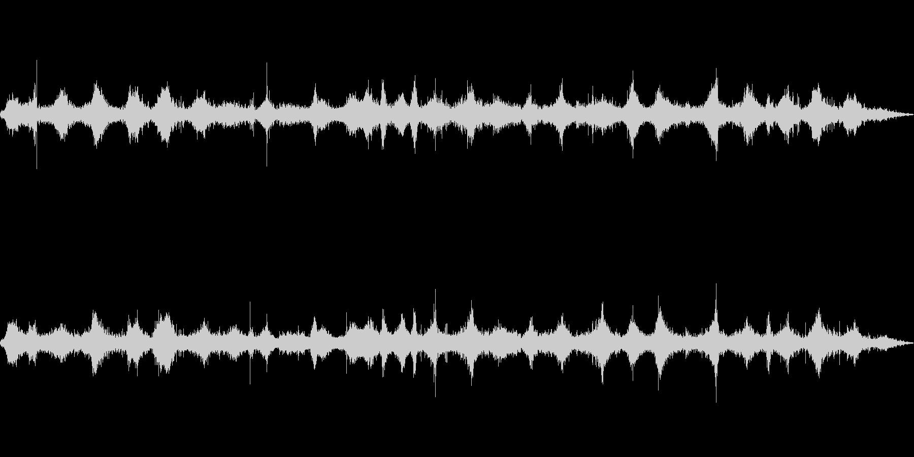 海 波 浜辺 海岸 カモメの環境音 21の未再生の波形