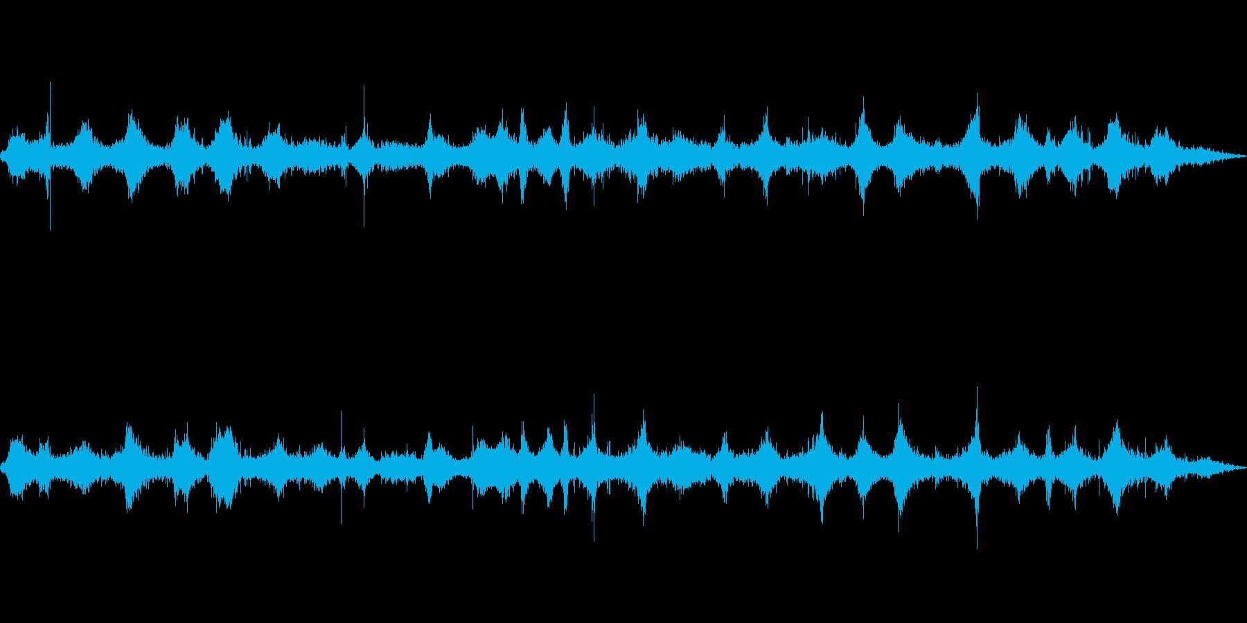 海 波 浜辺 海岸 カモメの環境音 21の再生済みの波形