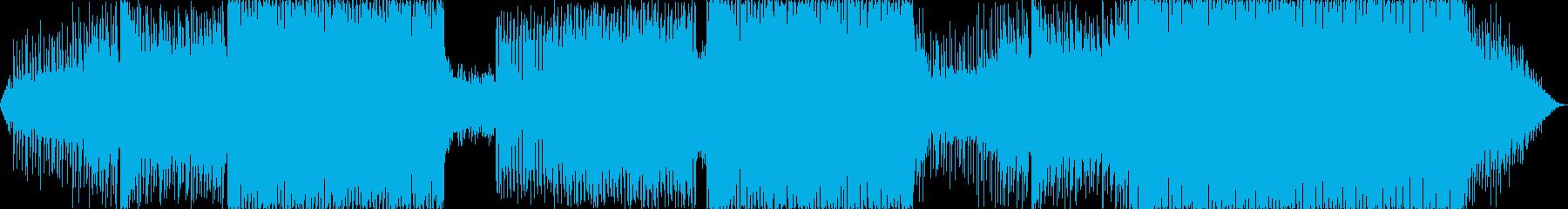 壮大で明るいEDMの再生済みの波形