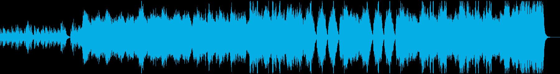 管弦楽によるアジアンテイストなBGMの再生済みの波形