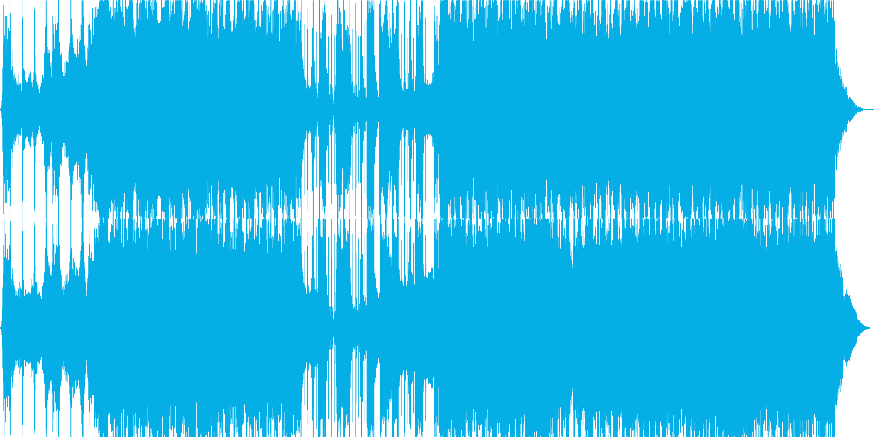 運転プレゼンテーションの再生済みの波形