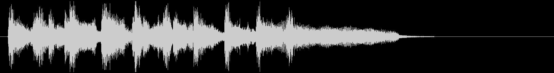 サンバ系フュージョン、サックスのジングルの未再生の波形