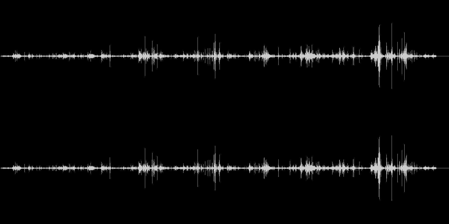 波-小-チャポテオの未再生の波形