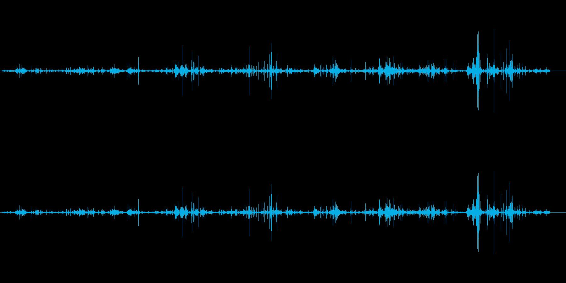 波-小-チャポテオの再生済みの波形