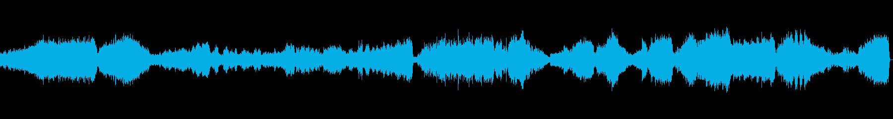大自然を描写したクラシック音楽の再生済みの波形