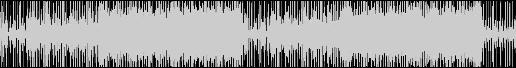【ループ対応】動画やCMトロピカルハウスの未再生の波形