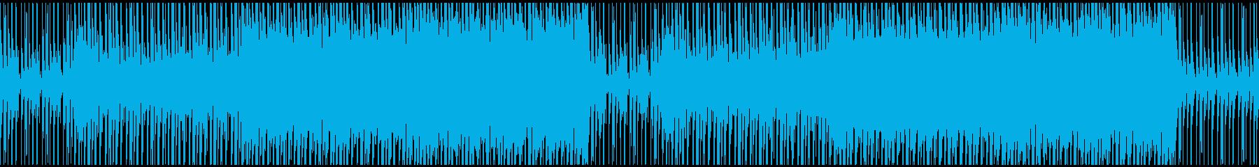 【ループ対応】動画やCMトロピカルハウスの再生済みの波形