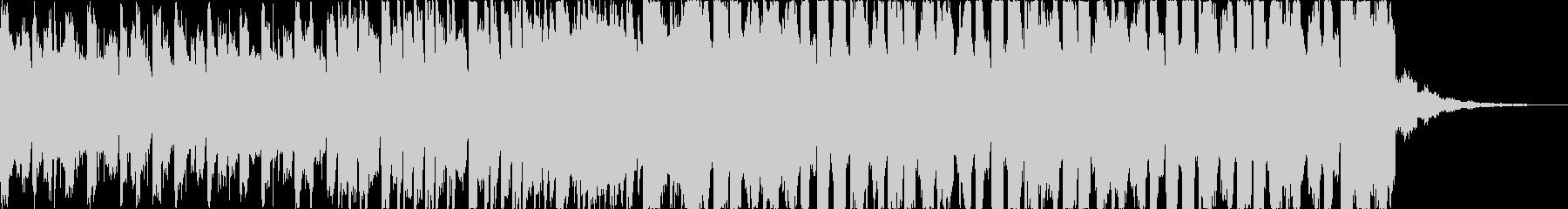 チルアウト幻想的なトロピカルハウスcの未再生の波形