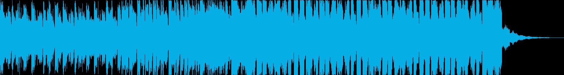チルアウト幻想的なトロピカルハウスcの再生済みの波形