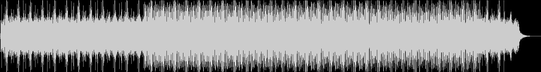 チルアウト系アンビエントBGMの未再生の波形
