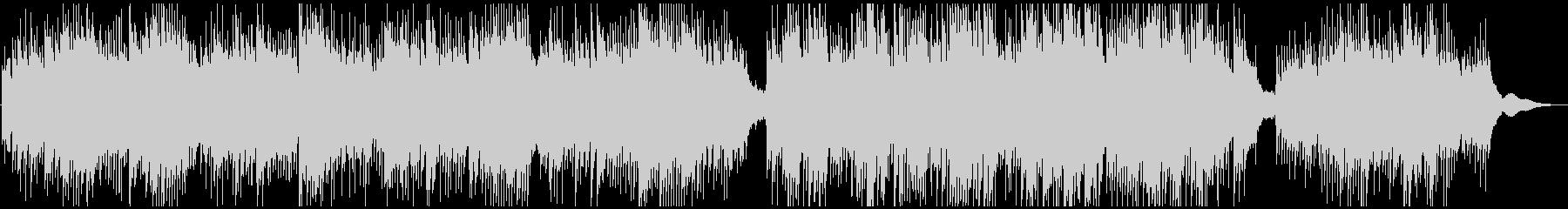 ドローン映像系の浮揚感ピアノアンビエントの未再生の波形