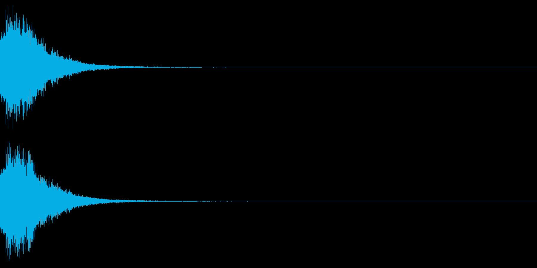 アナウンス 案内 実験 チャイム 03の再生済みの波形