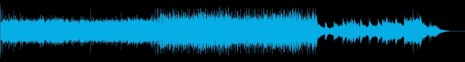 ゴシックコーラスなテクノの再生済みの波形