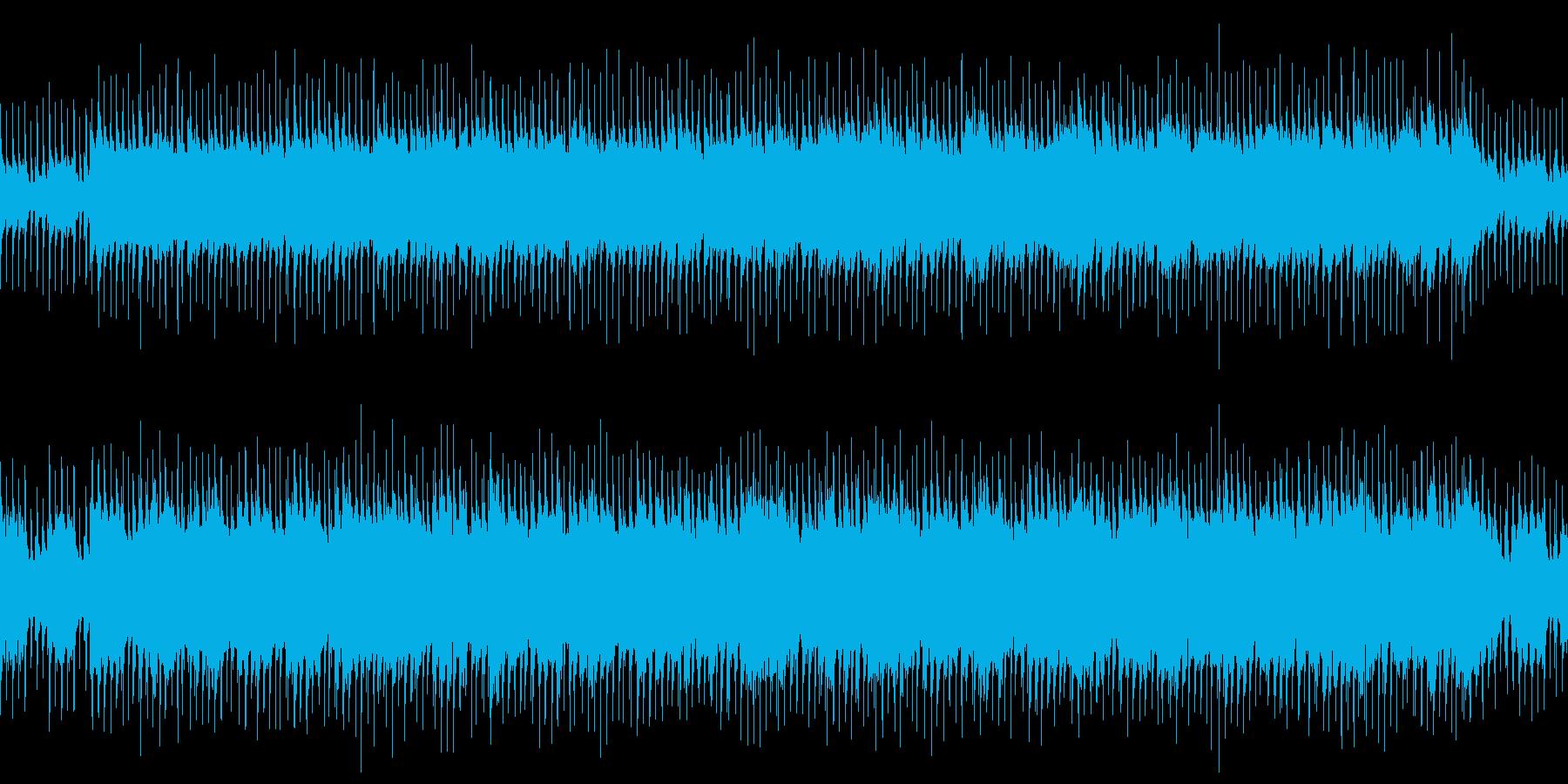 ループ ポップでかわいい日常系の再生済みの波形