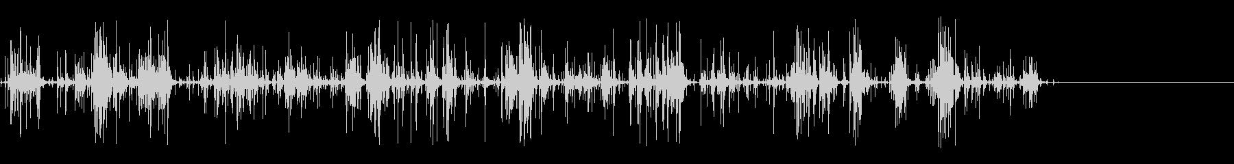 [生音]ビー玉をカチャカチャする02の未再生の波形